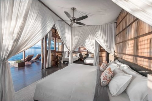 enjoy the endless view out of bed