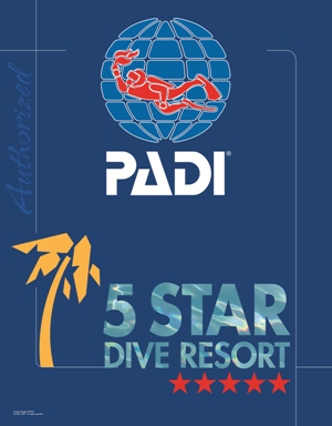 PADI diving resort