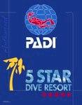 PADI being 5 star