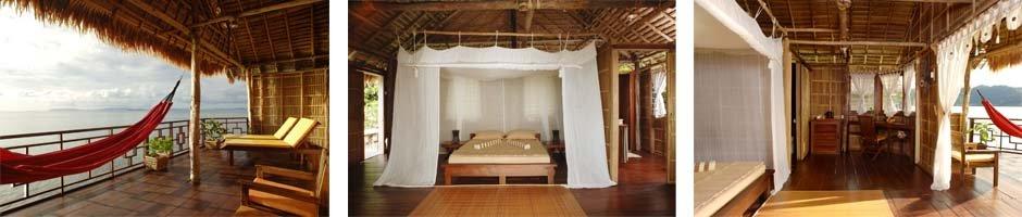 Interior Papua Paradise bungalow
