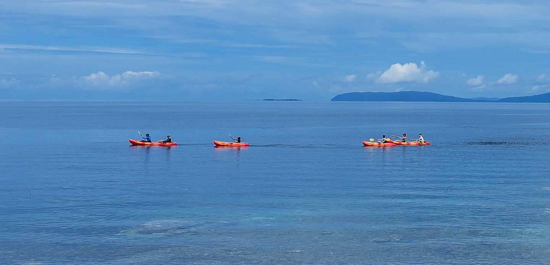 kayaking raya ampat