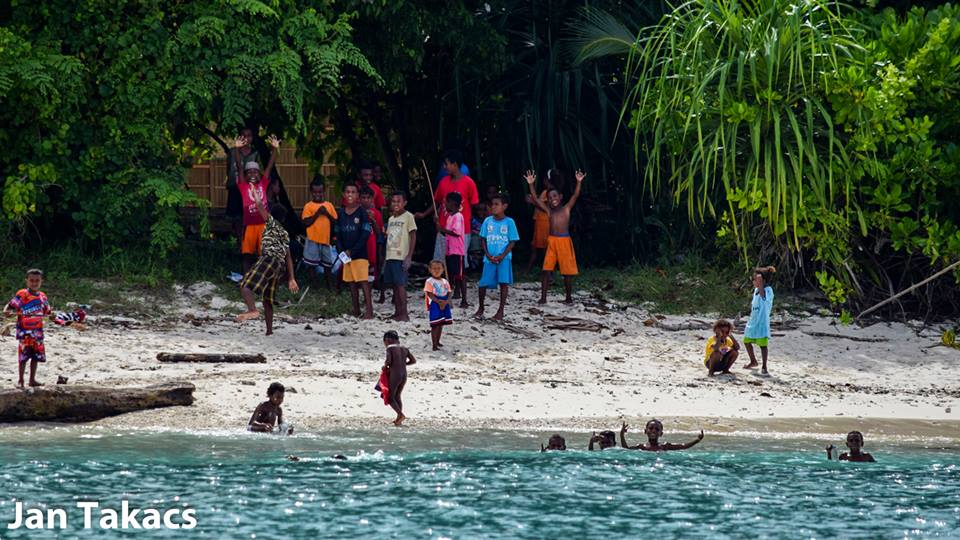 Raja Ampat Language - children playing