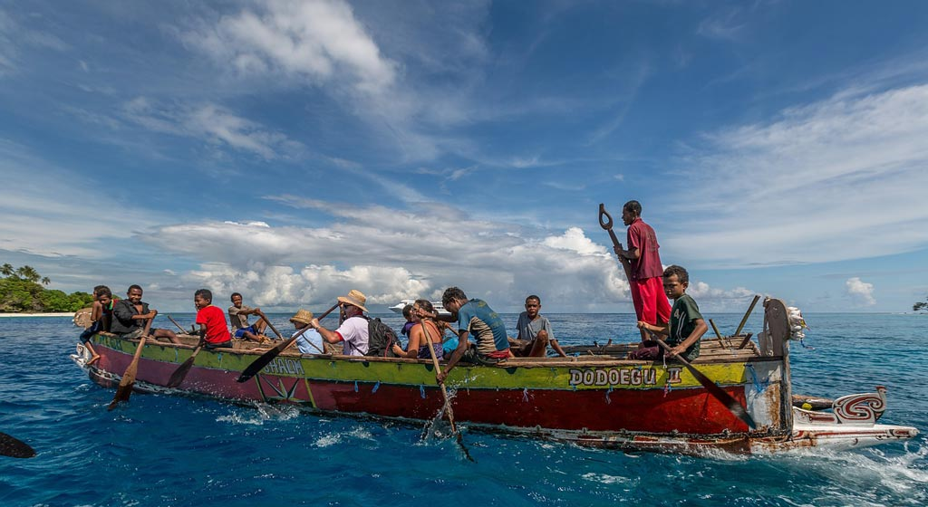 boat in raya ampat