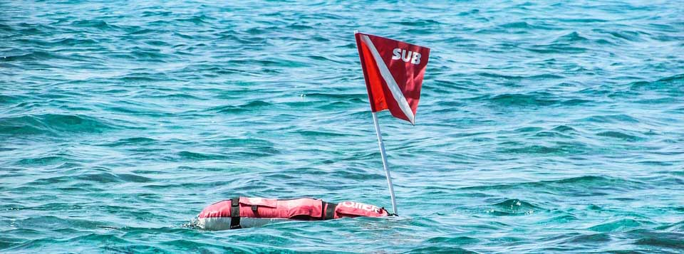 Surface Marker Buoy - raja ampat diving seafty