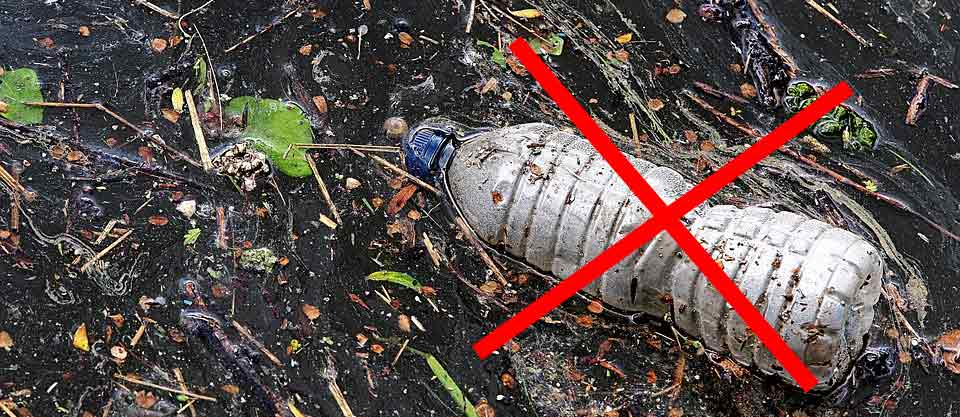 Say no to Bootle Plastic in raja Ampat