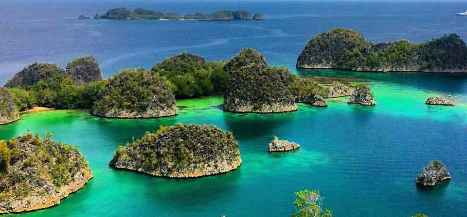 Pianemo Island Raja Ampat Tracking
