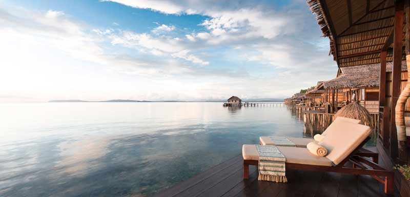 Five star Eco resort in raja ampat papua paradise