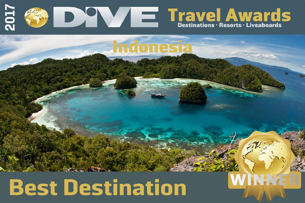Indonesia World's Best Dive Destination - DIVE Travel Awards 2017