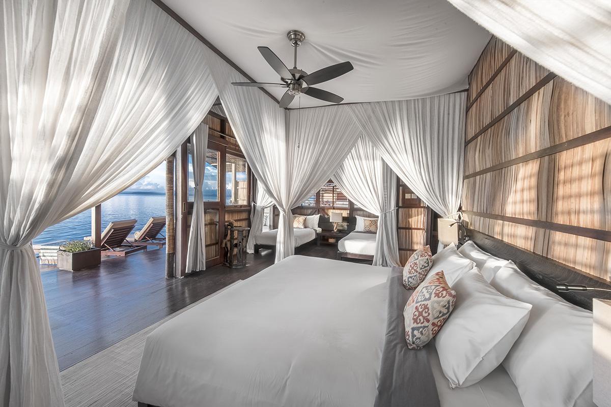 Papua Paradise Eco Resort in Raja Ampat, Indonesia