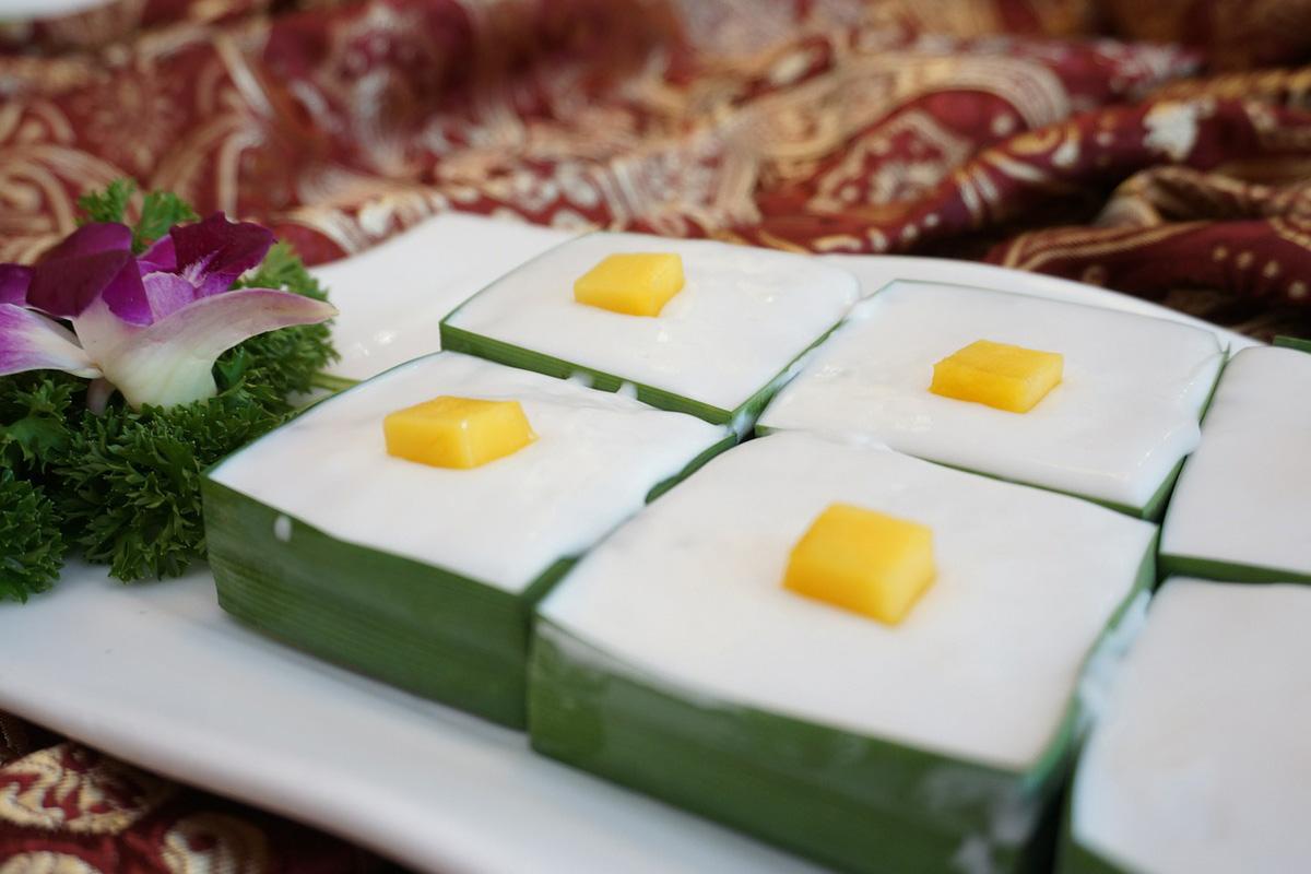 Sago Desserts Raja Ampat, West Papua, Indonesia