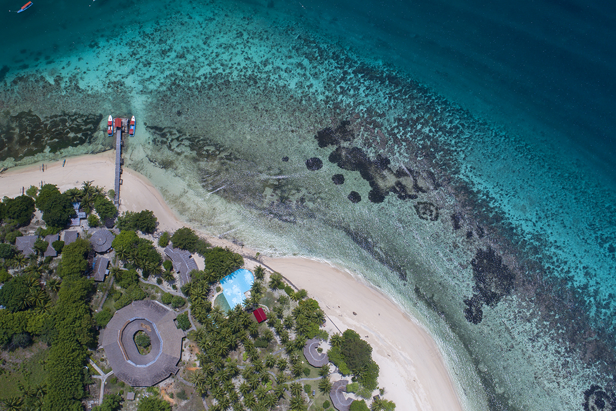 Gangga Island, Top 10 Dive Spots in Indonesia