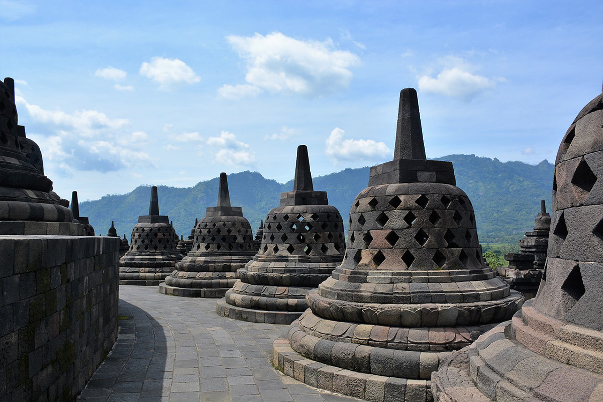 Borobudur - 5 Places in Indonesia that Should Be on Your Travel Bucket List