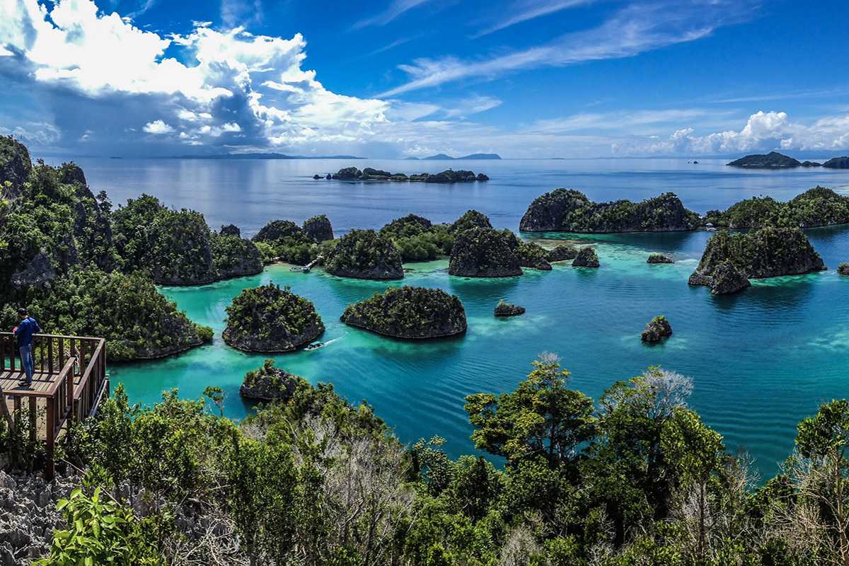 Spend a Day at The Fam Islands in Raja Ampat