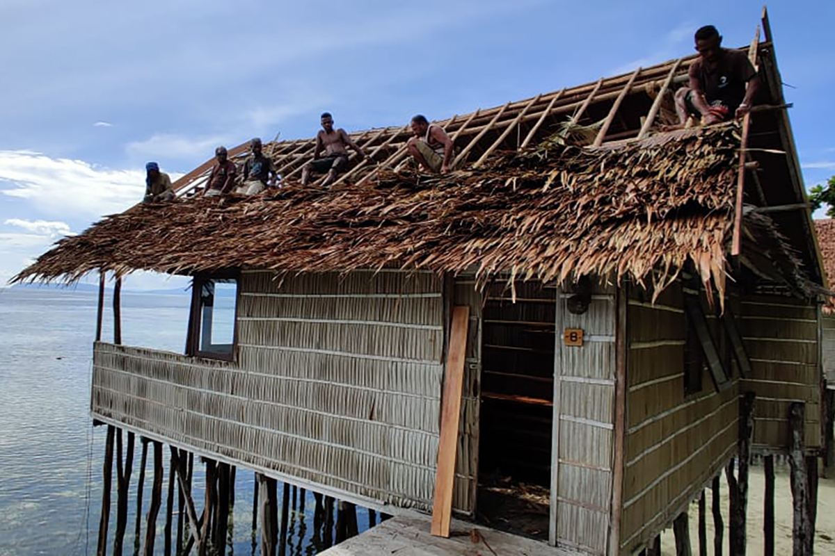 Positivity and Productive Downtime at Papua Paradise Eco-Resort