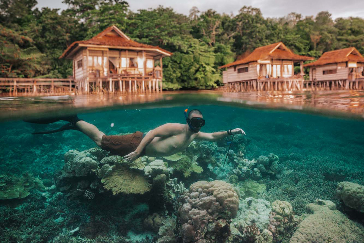 Staying At Papua Paradise Eco Resort In Raja Ampat,