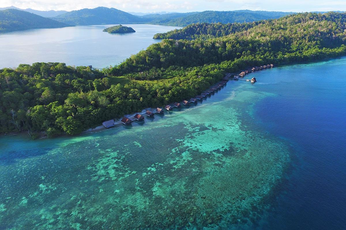 Papua Paradise Eco Resort, Birie Island, Raja Ampat