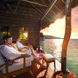 Spa Ocean Lounge Sunset