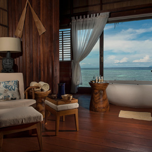Spa Treatment Room Chair & Bathtub Vivid